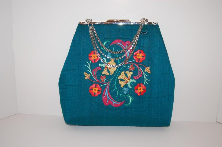 Свадьба - Clutch Bag, Frame Purse, Summer Bag, Evening Bag, Wedding Bag, All Day Bag...