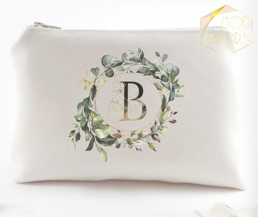 زفاف - Will you be my bridesmaids proposal cosmetic bags Monogram bridesmaid gifts Bridesmaid make up bags Custom bridesmaid cosmetic bag gifts