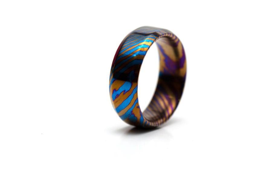 Hochzeit - Timascus Ring