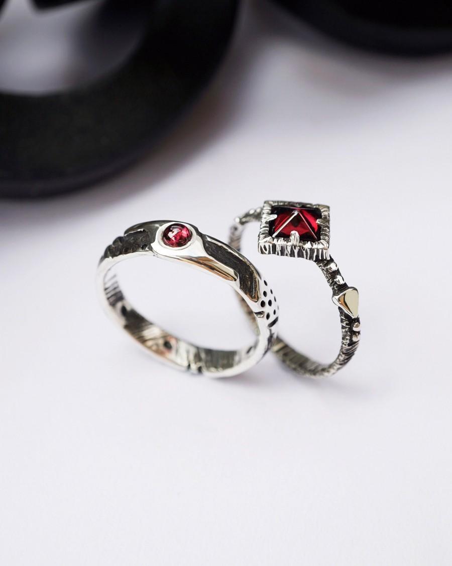 Wedding - Couples ring set