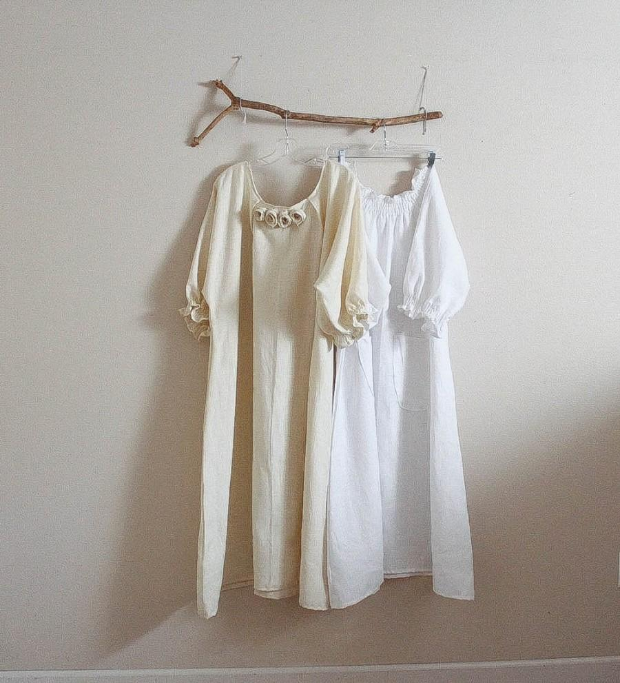 Mariage - custom two linen dresses