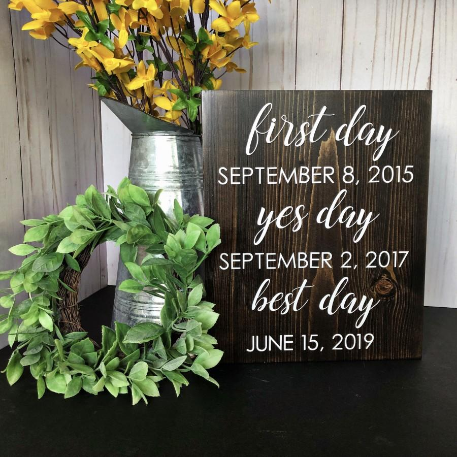 Wedding - Our Love Story Sign // Wedding Sign // Rustic Wedding Decor