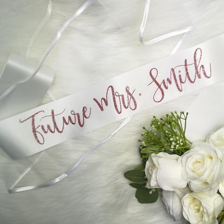 Свадьба - Custom Bridal Sash