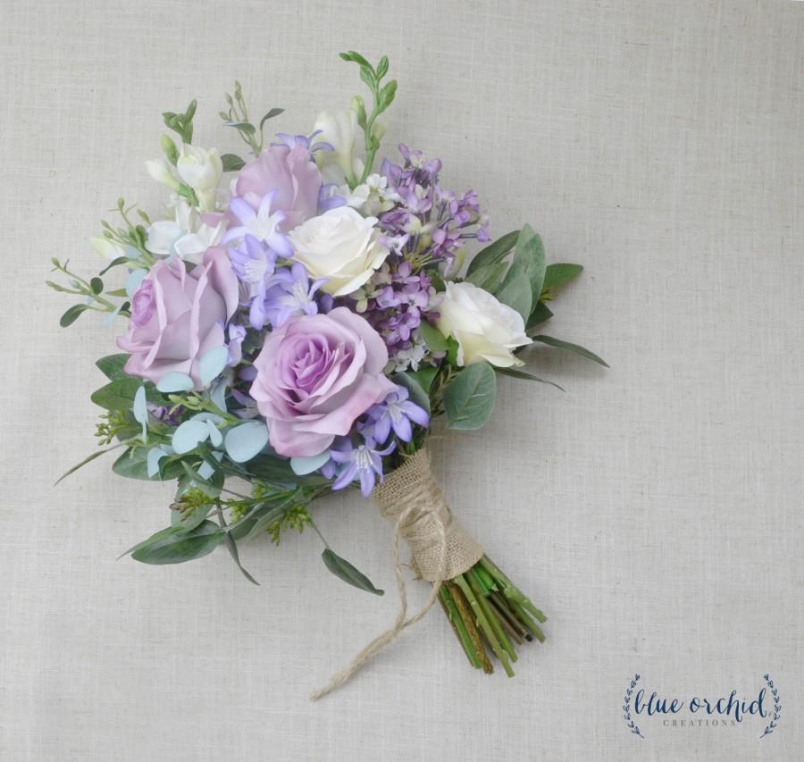 Свадьба - wedding bouquet, wedding flowers, boho bouquet, bridal bouquet, garden bouquet, purple, lavender, greenery, roses, boho bouquet, wildflower