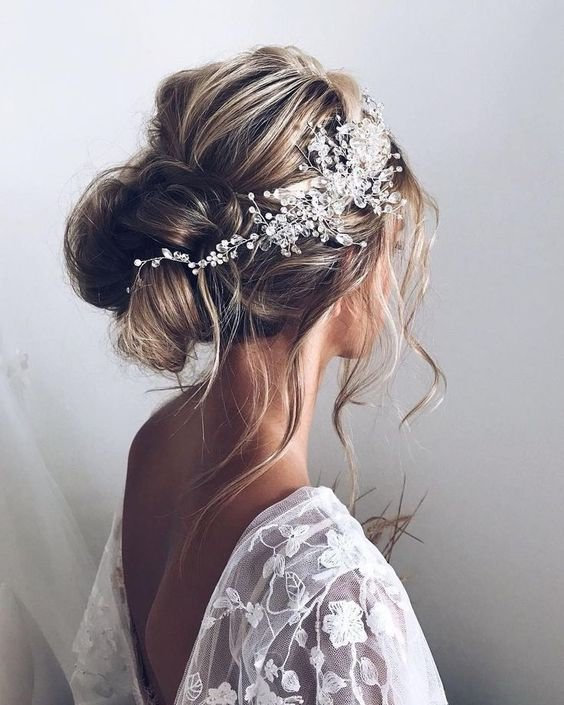 Свадьба - Bridal hair vine Wedding hair vine Bridal hair piece Wedding headband Wedding Hair Accessories Crystal Bridal hair vine Bridal headband