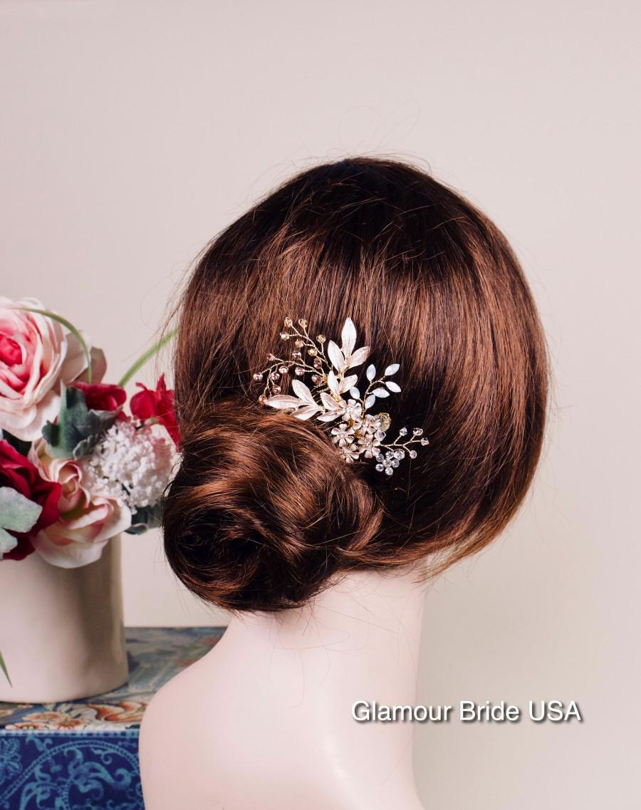 Wedding - Bridal hair piece Wedding hair piece Bridal hair comb Wedding hair comb Bridal headpiece Wedding headpiece Bridal hair clip Bridal hair vine
