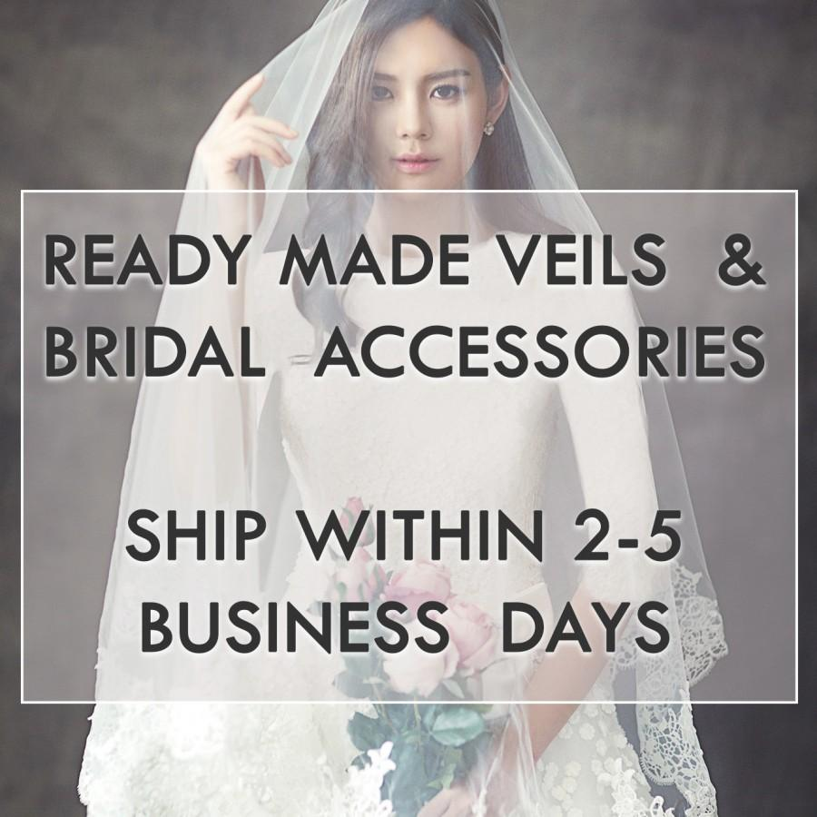 Mariage - Ready Made Veils and Bridal Accessories, Ship Within 2-5 Business Days