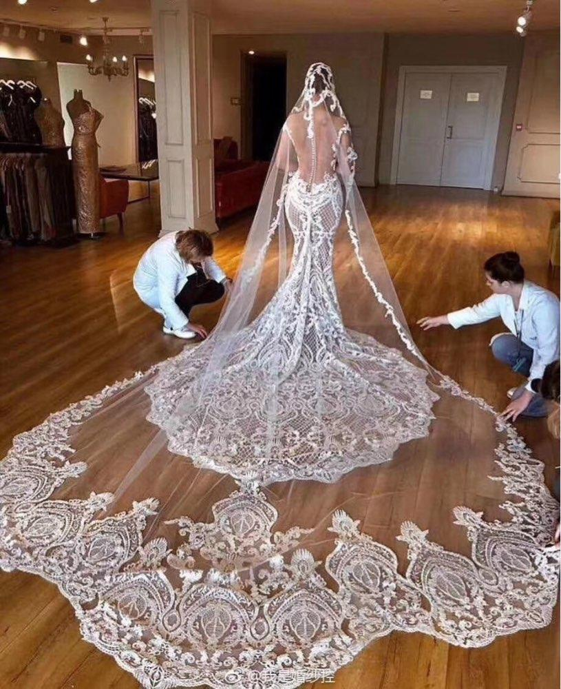 Mariage - Royal Cathedral Length Wedding Veil