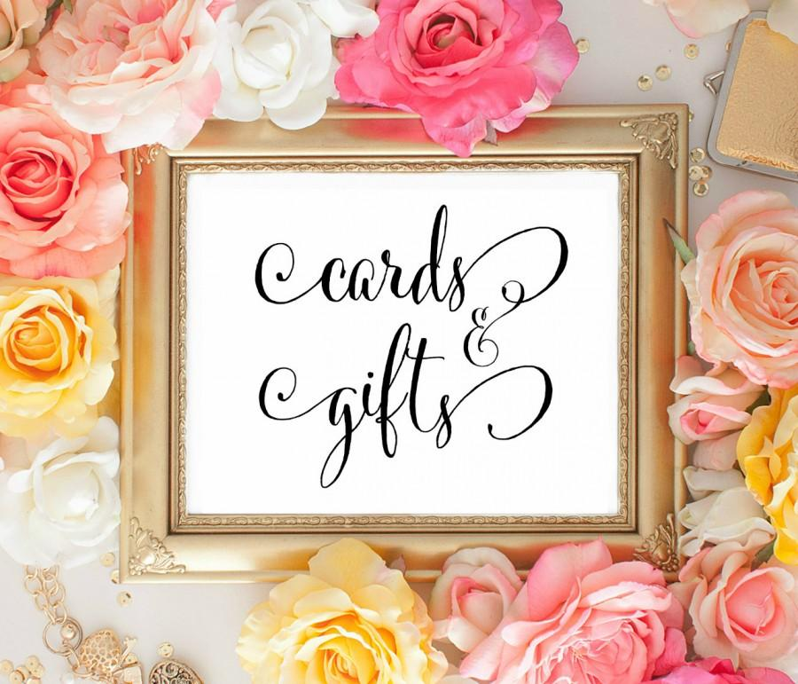Свадьба - Wedding CArds and Gifts sign. Cards and Gifts Signage. Cute Wedding signage. Wedding decorations. Wedding CArds and Gifts. Wedding Reception