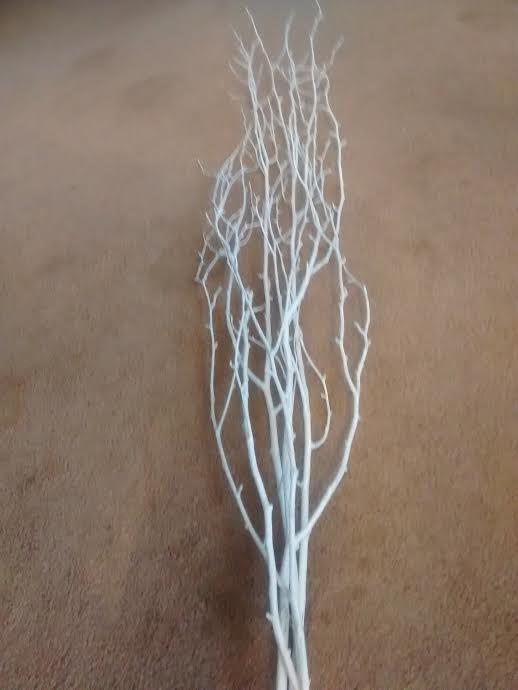 Mariage - White Birch Tree Branches (24 Pack)  3'-4' - Bulk birch branches/wholesale birch branches/birch branches/branch centerpiece/rustic wedding