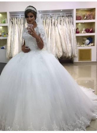 Свадьба - Modern Brautkleider Mit Spitze