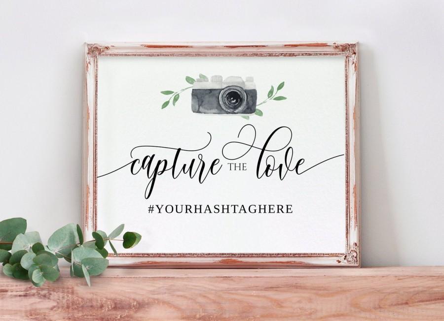 Свадьба - Wedding Hashtag Sign