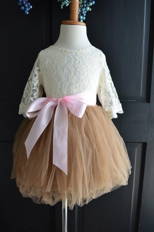 Wedding - Girls Ivory lace blouse, ivory lace blouse, girls blouse, girls shirt, Cream  blouse, Ivory  lace shirt