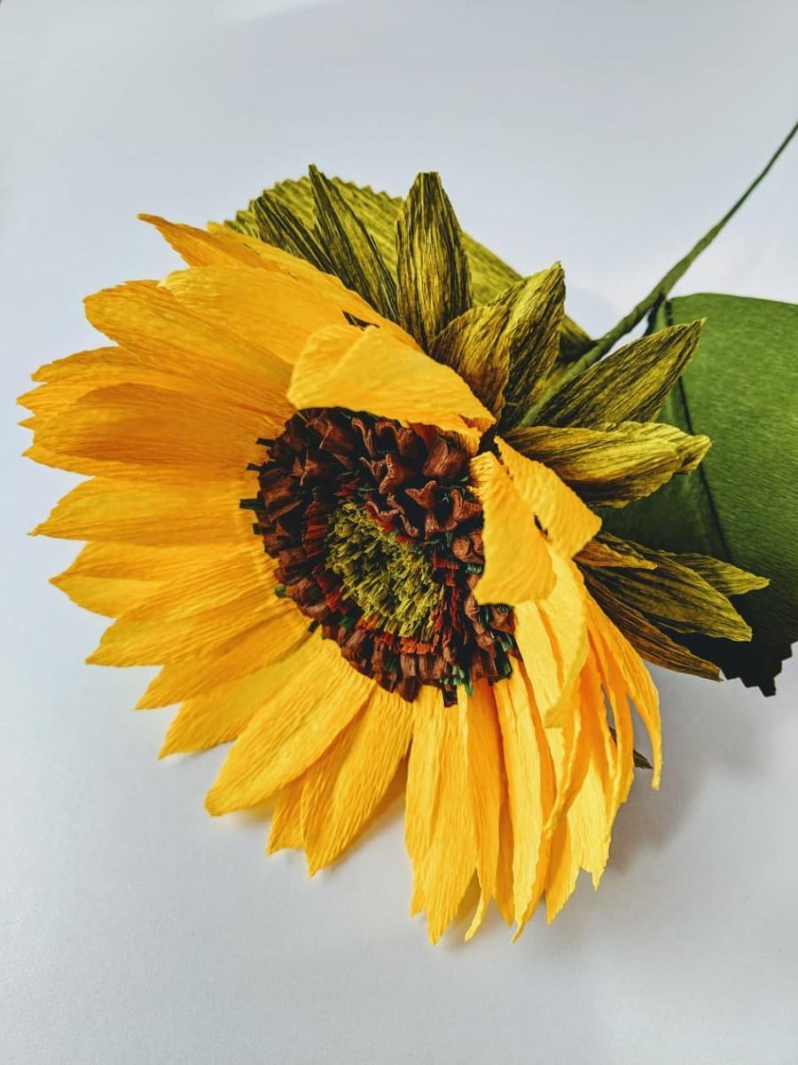 Wedding - Paper Sunflower