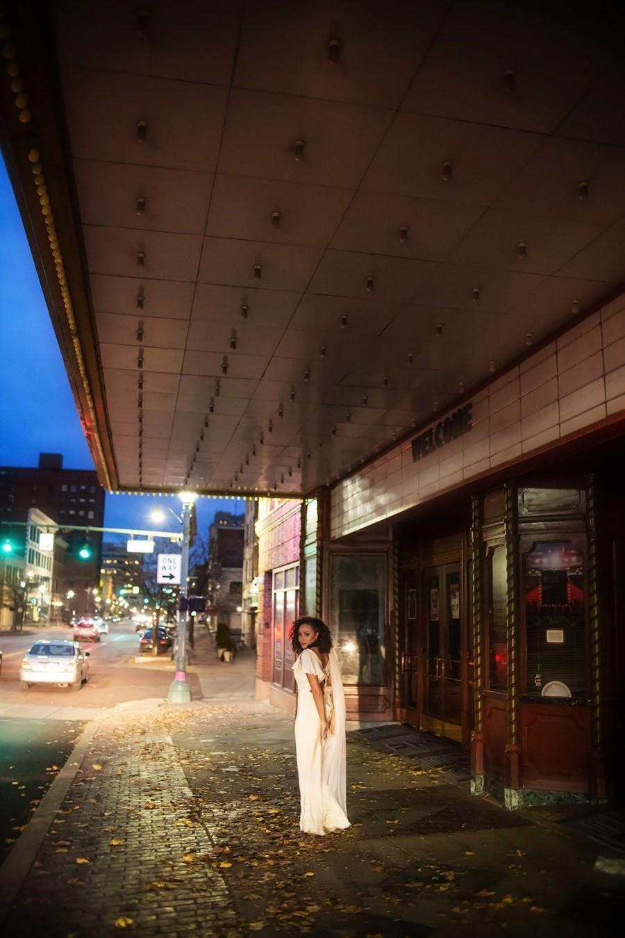 Свадьба - Waltz Length English Net Wedding Veil - Simple cascading ballet length dyed angel cut bridal veil - 2100