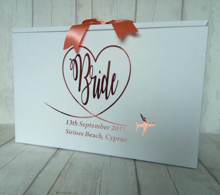Mariage - Wedding Dress Travel Box Bride Airline Size