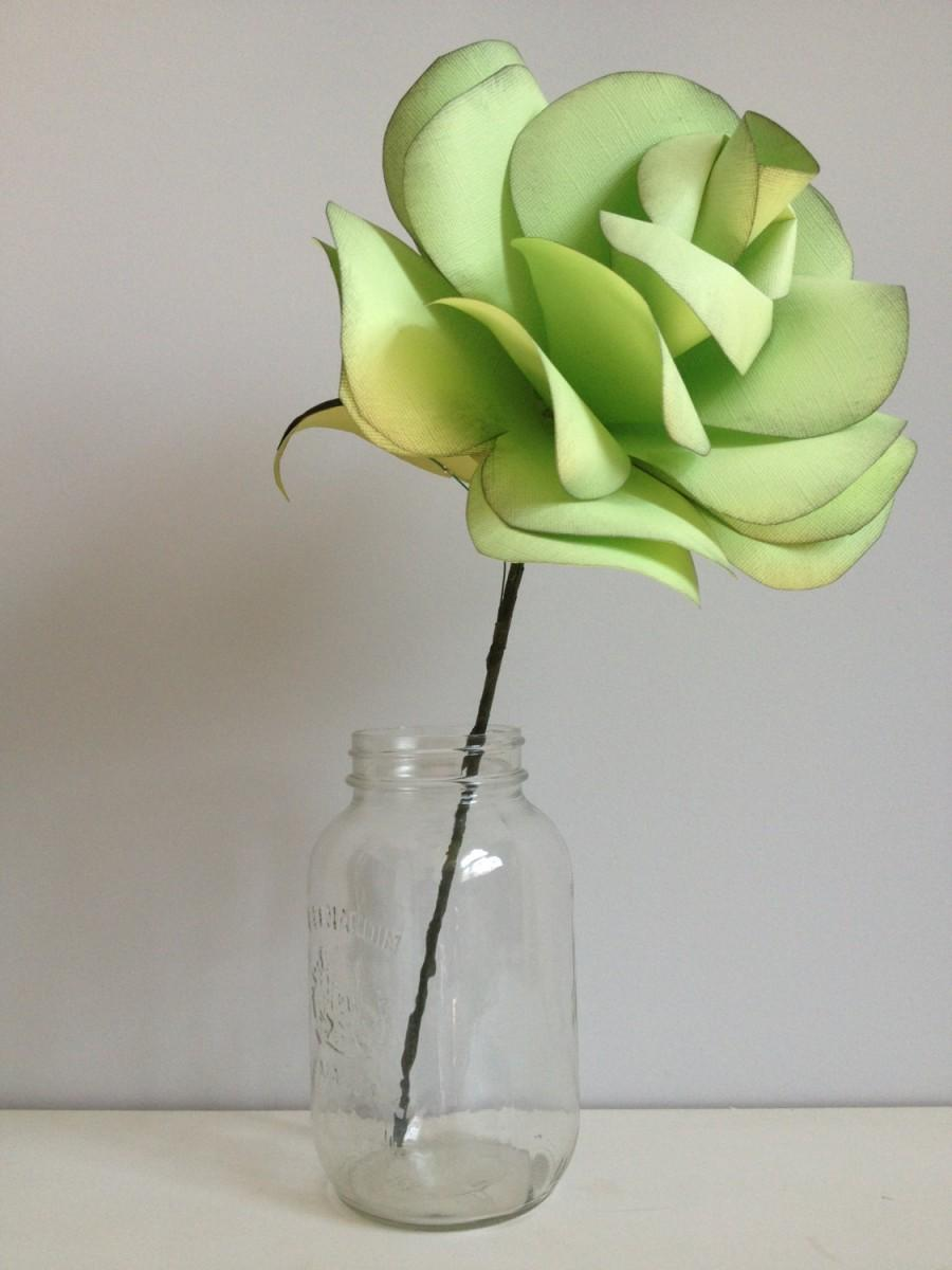 Wedding - Large oversized statement roses-paper flowers, various colours, for party and wedding decor-set of 6, you chose the colour