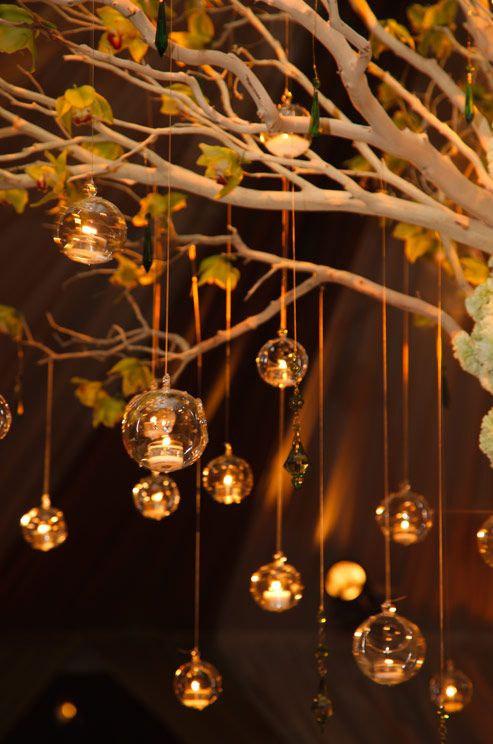 Свадьба - 50/100 Hanging Candle Holders, Blown Glass Orb Terrarium, 80MM Globe Shaped Hanging Tea Light Holders for Wedding Centerpieces