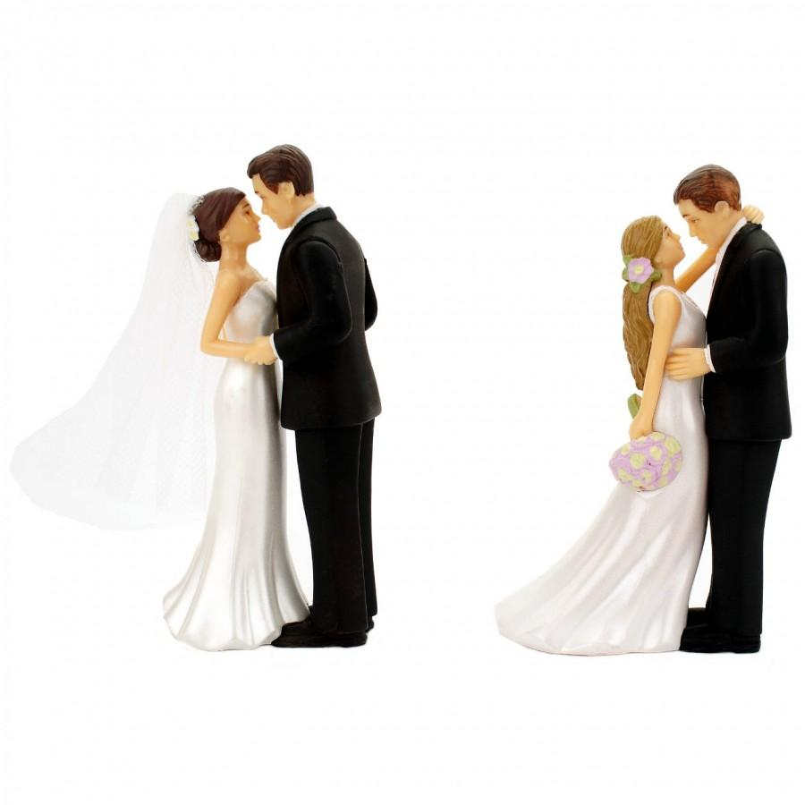 Mariage - Wedding Cake Topper Bride and Groom Decorations Romantic Supplies