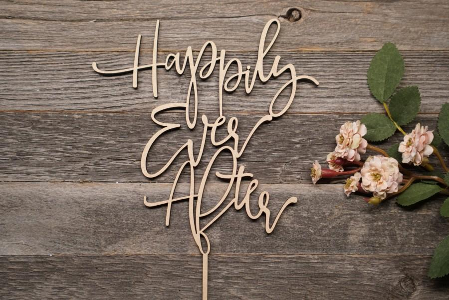 Mariage - Happily Ever After Topper