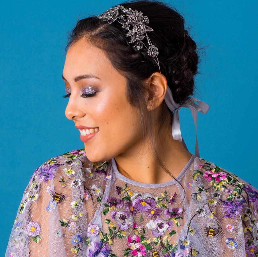 Wedding - Elvina Dainty Hedgerow Crown