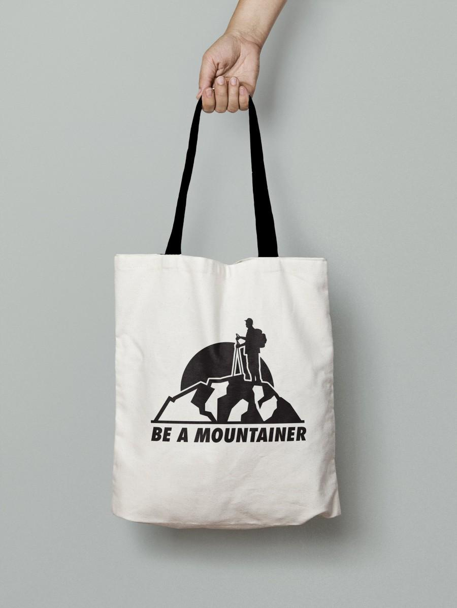 Hochzeit - be a mountaineer (Tote Bag)