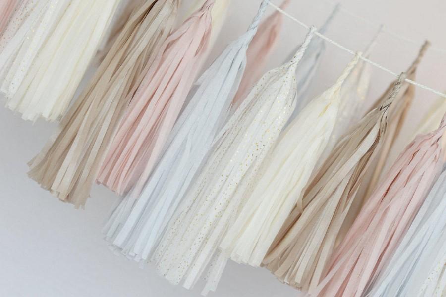 زفاف - Custom colour tassel garland