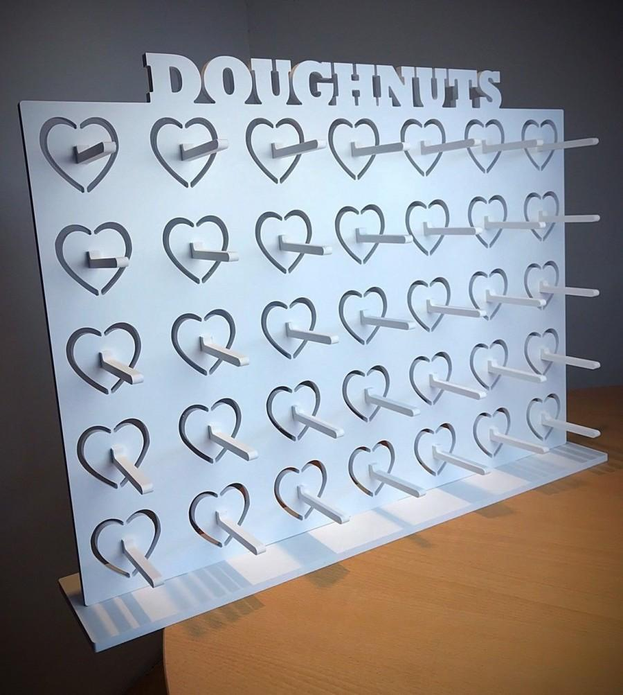 Свадьба - Donut Wall Doughnut Wall White. Candy Cart. Various Sizes & Prices. Holds 9-126 Donuts