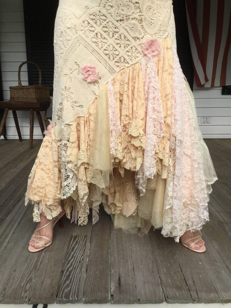 زفاف - Glam Vintage Lace Wedding Dress