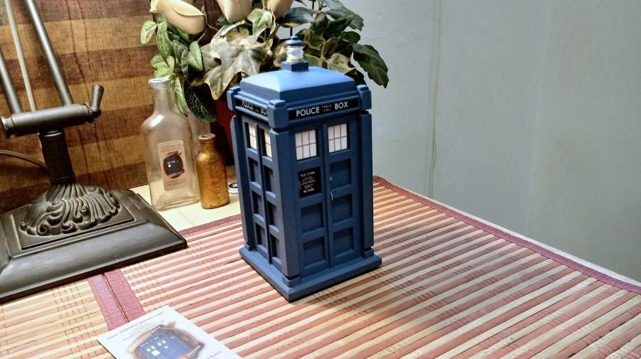 زفاف - 13th Doctor's TARDIS inspired Ring Box