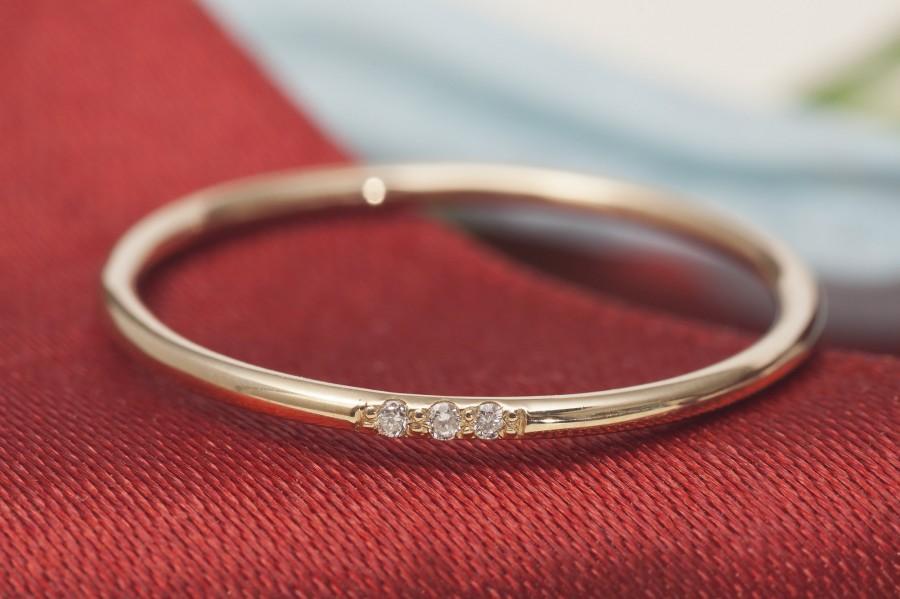 Mariage - 14K Gold Ring For Women, Wedding Band, Wedding Band Women, Woman Wedding Band, Wedding Ring, Gold Ring for Woman, Wedding Ring Woman