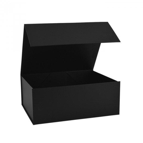 Hochzeit - Black Magnetic Gift Boxes Available In 4 Different Sizes - Gift Packaging