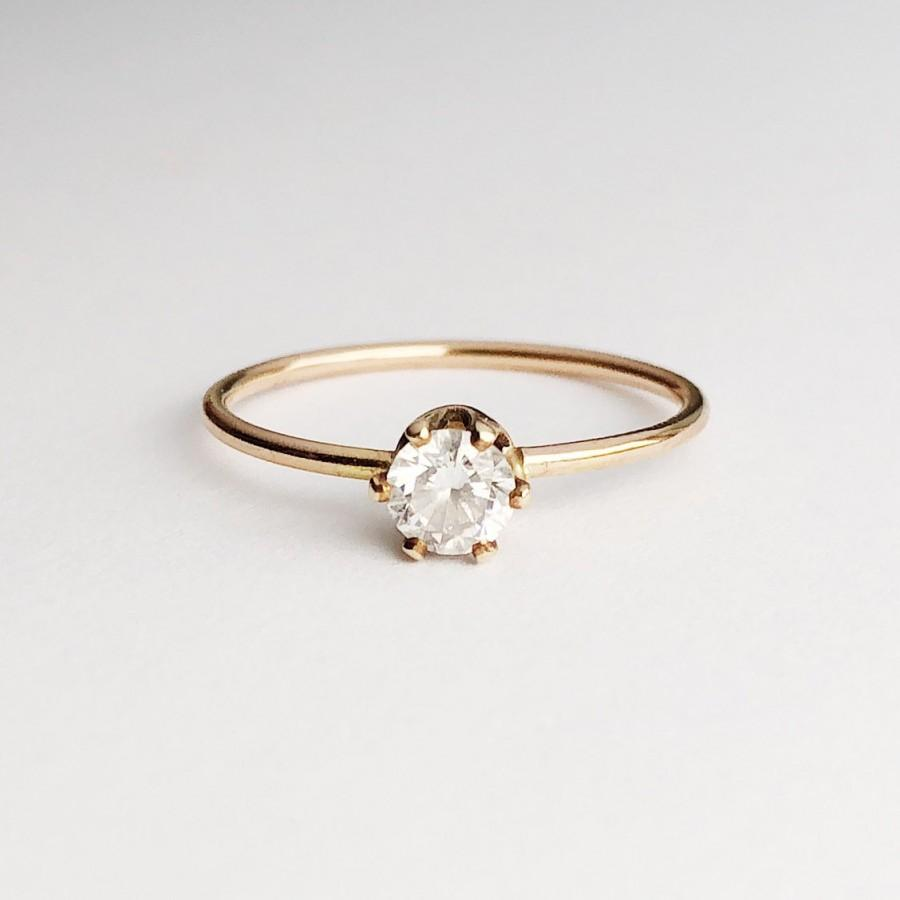 Свадьба - 4mm Ethical Solitaire