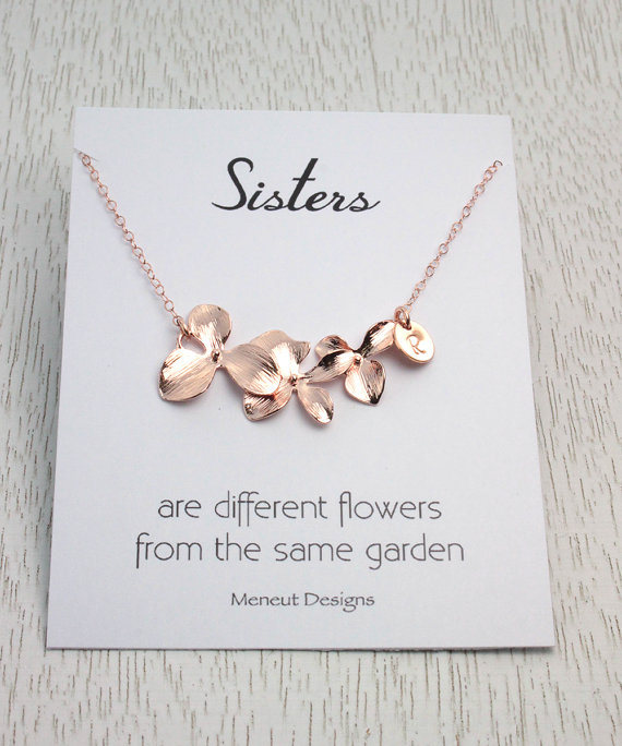 Mariage - 20%OFF Sisters Flower Necklace