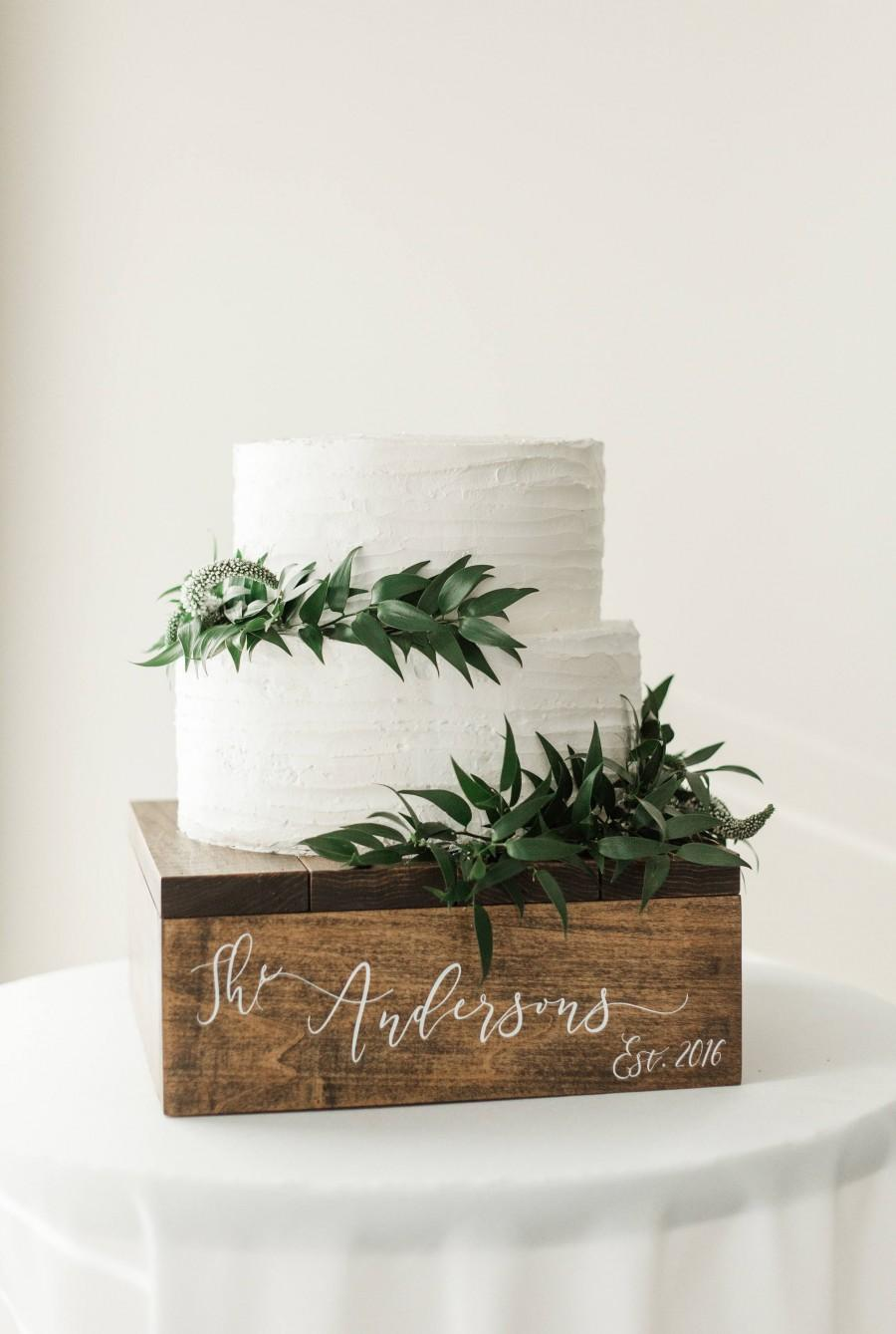 Wedding - Rustic Cupcake Stand