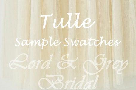 زفاف - Tulle Samples Swatches, Bridal Veil Sample, Tulle Swatch, Bridal Illusion Tulle Sample, Tulle Swatches, Veil Samples