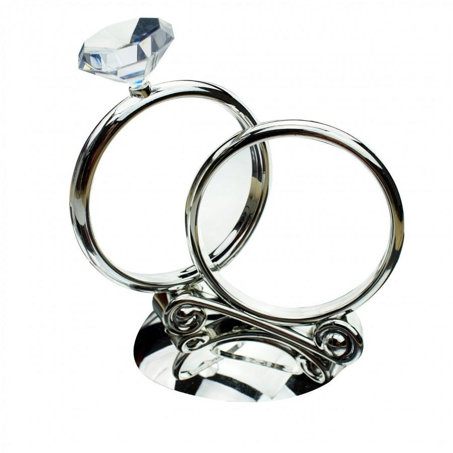 Wedding - Wedding Cake Topper Diamond Ring Reception Table Centrepiece Decorations