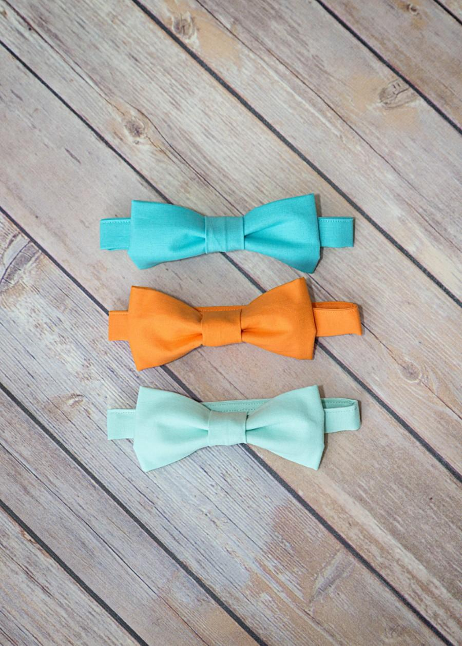Wedding - Bow Tie Sizes Infant to Large Adult Available in Several Different Colors Color Matches to Popular Wedding Colors