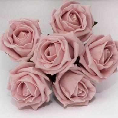 Mariage - 36 Stems Artificial Roses - Vintage Pink - Mixing colours available