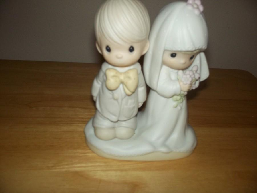 Mariage - Precious Moments Bride and Groom/ free shipping