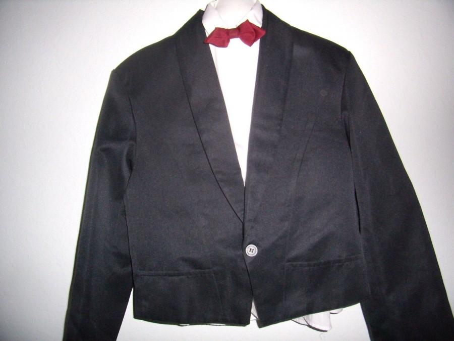 Hochzeit - Jacket, men, wedding jacket, ceremony, Vintage french black Spencer