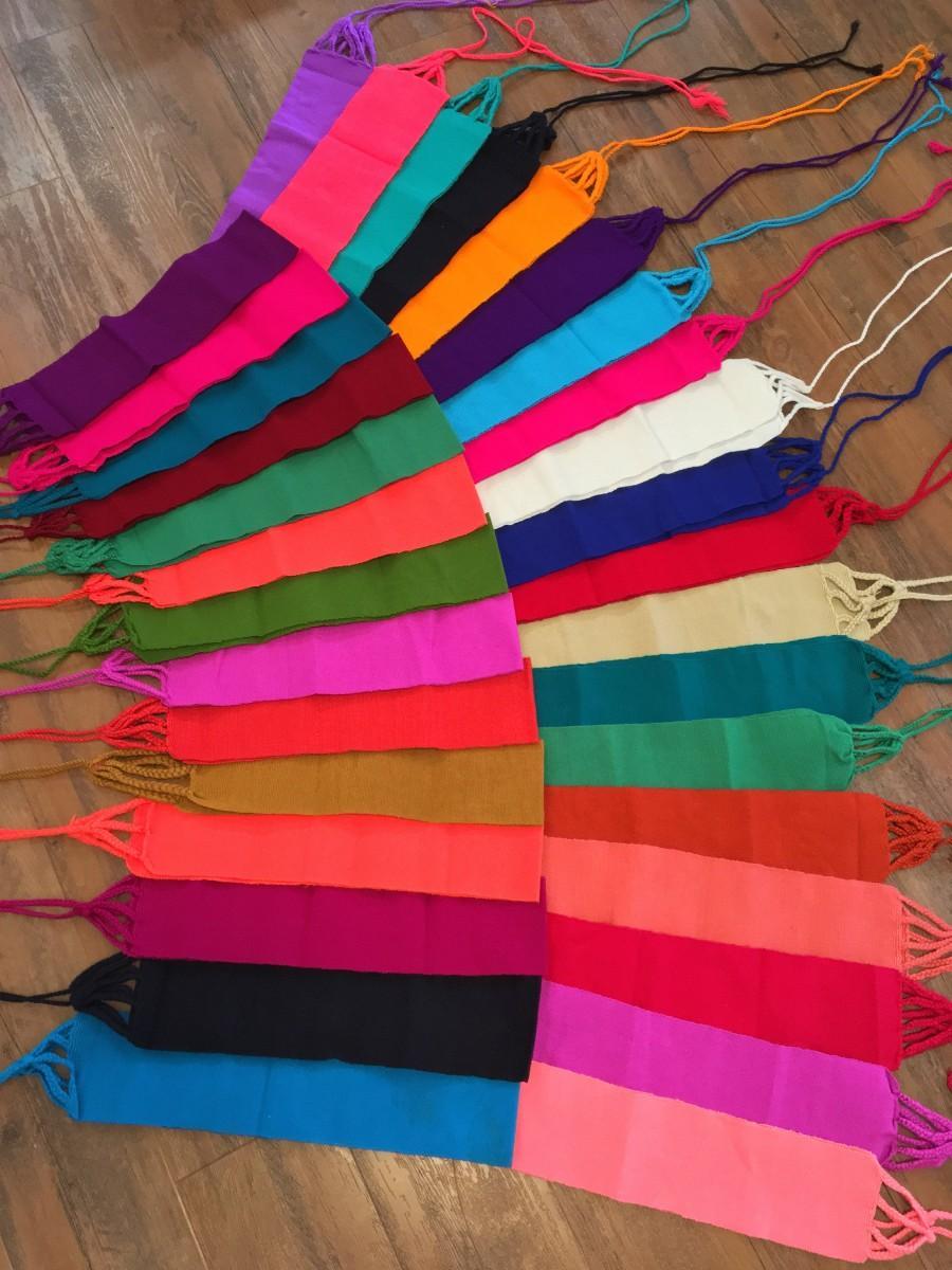 زفاف - Solid Mexican belt, perfect for your Mexican blouse or dress!