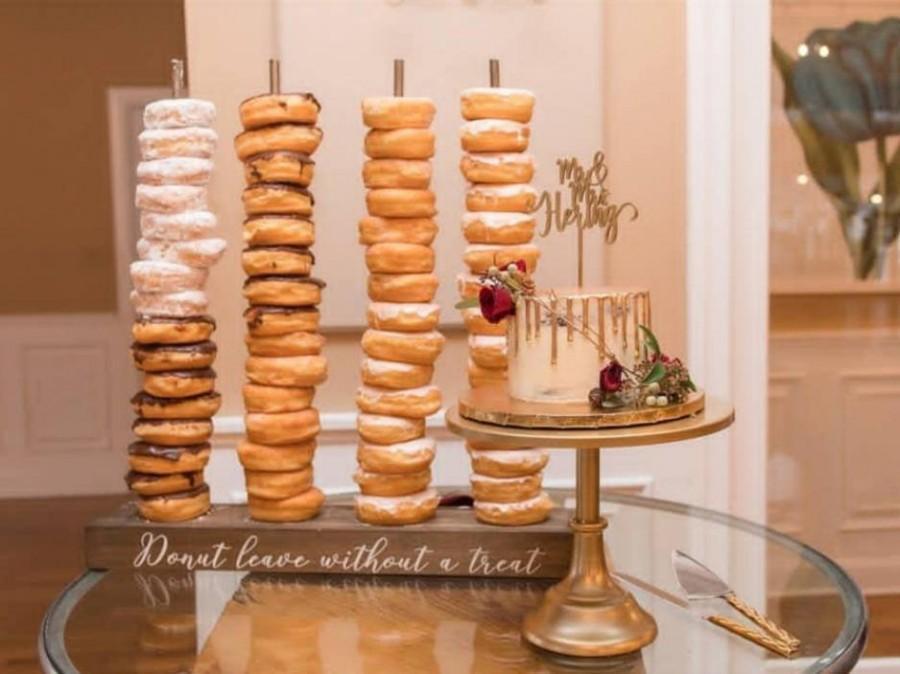 زفاف - Donut stand, doughnut stand, donut bar, Personalized Donut Stand
