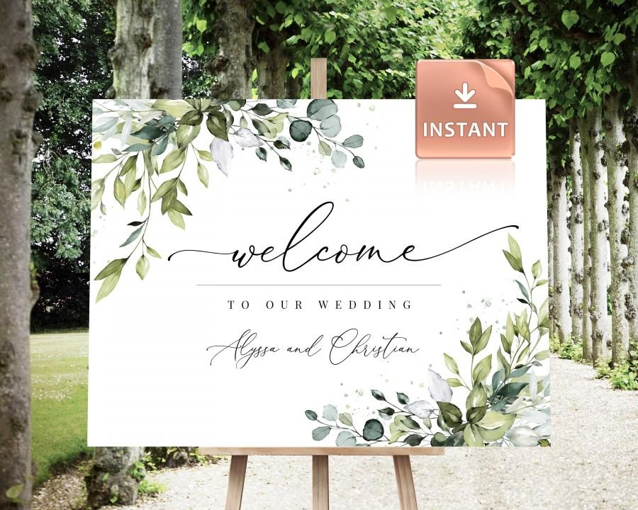 Mariage - REESE - Large Wedding Welcome Sign, Custom Wedding Sign, Welcome Sign Wedding, Welcome Sign, Boho Welcome Sign, Wedding welcome signage