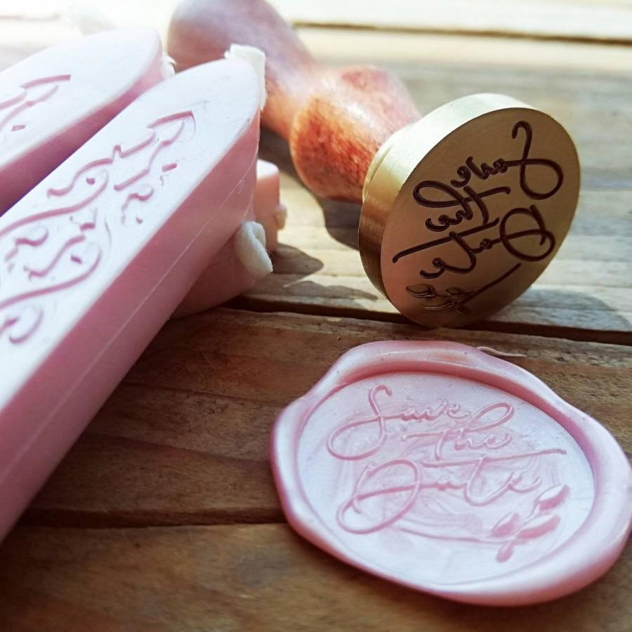 Wedding - CERALACCA Stamp, Custom #sigillo #timbri #matrimonio?