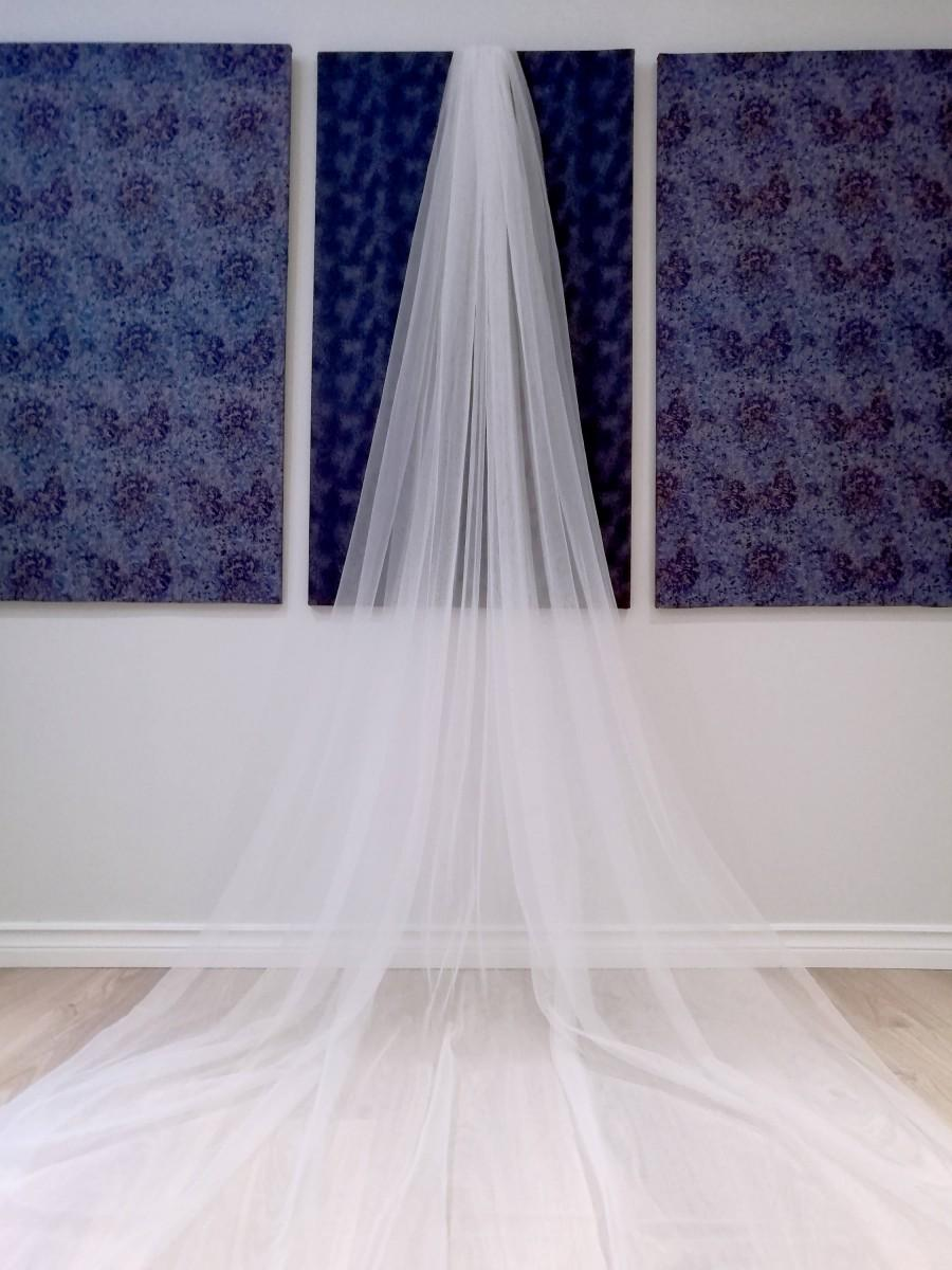 Wedding - 2 Layer Cathedral Veil