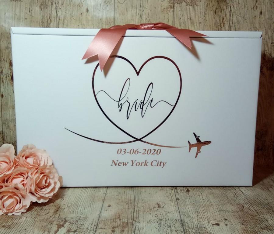 Hochzeit - Wedding Dress Box Bride Airline Size