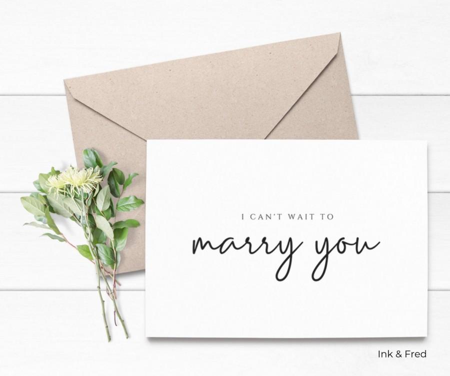Wedding - I Do Groom Card, I Do Bride Card, Wedding Day Card, Card For Groom, Love Card, To My Husband, To My Wife, To My Fiancé, Newlywed
