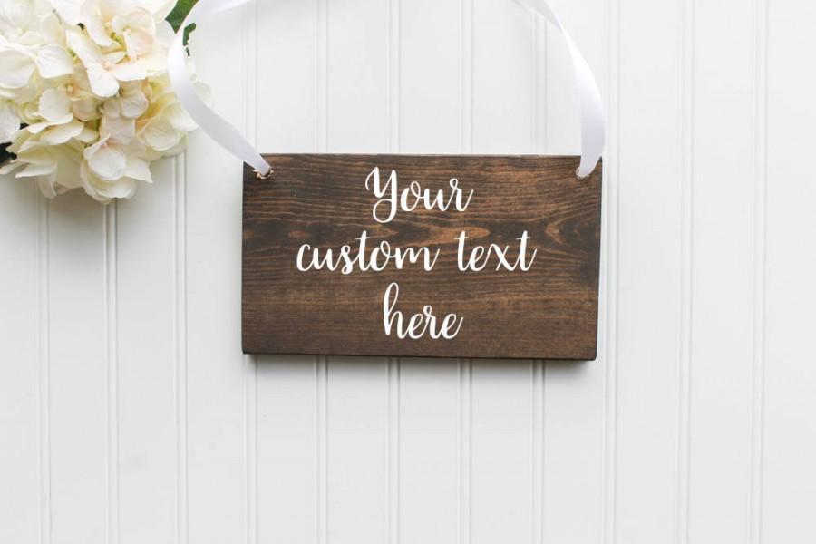 Свадьба - Custom Wooden Sign