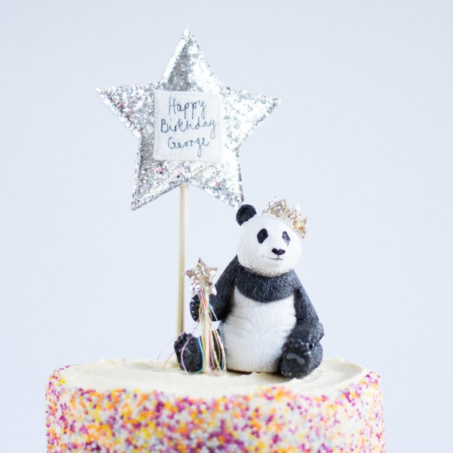 Mariage - Star Birthday Cake Topper, Personalised Cake Topper Stars